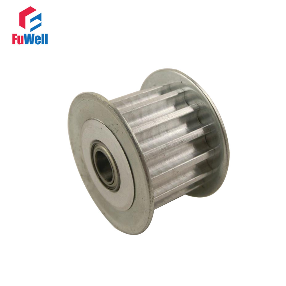 HTD5M 25T Timing Idler Pulley 25 Teeth 5/6/7/8/10/12/15mm Bore Idle Belt Pulley 16/21/27mm Belt Width Bearing Synchronous Wheel lupulley 25t 5m idler pulley tensioner bore 5 6 7 8 10 12 15mm with bearing guide regulating synchronous htd5m pulley 25t