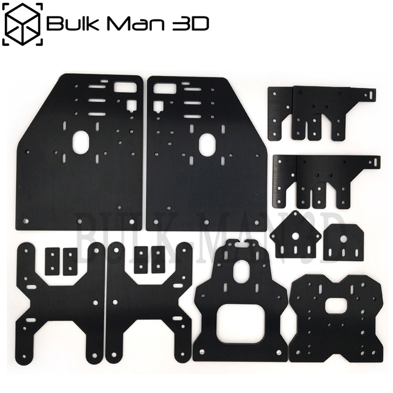 Aluminum Gantry OX CNC Plates Kit For OX CNC Machine 23 NEMA Stepper Motor