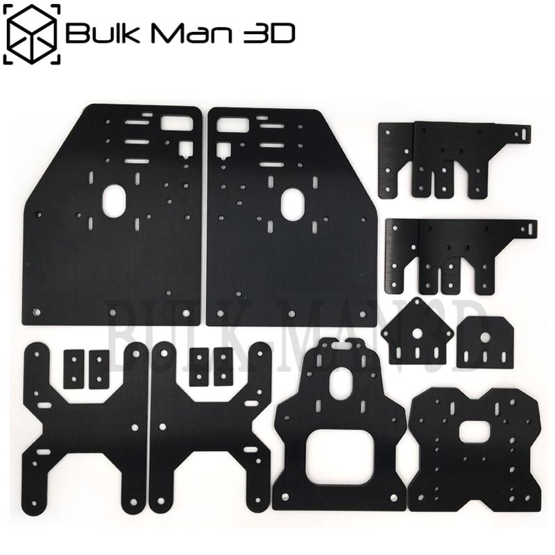 Aluminum Gantry OX CNC Plates Kit For OX CNC Machine 23 NEMA Stepper Motor