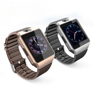 Image 3 - Écran tactile montre intelligente dz09 avec caméra Bluetooth montre bracelet carte SIM montre intelligente pour Ios Android téléphones prennent en charge Multi langua