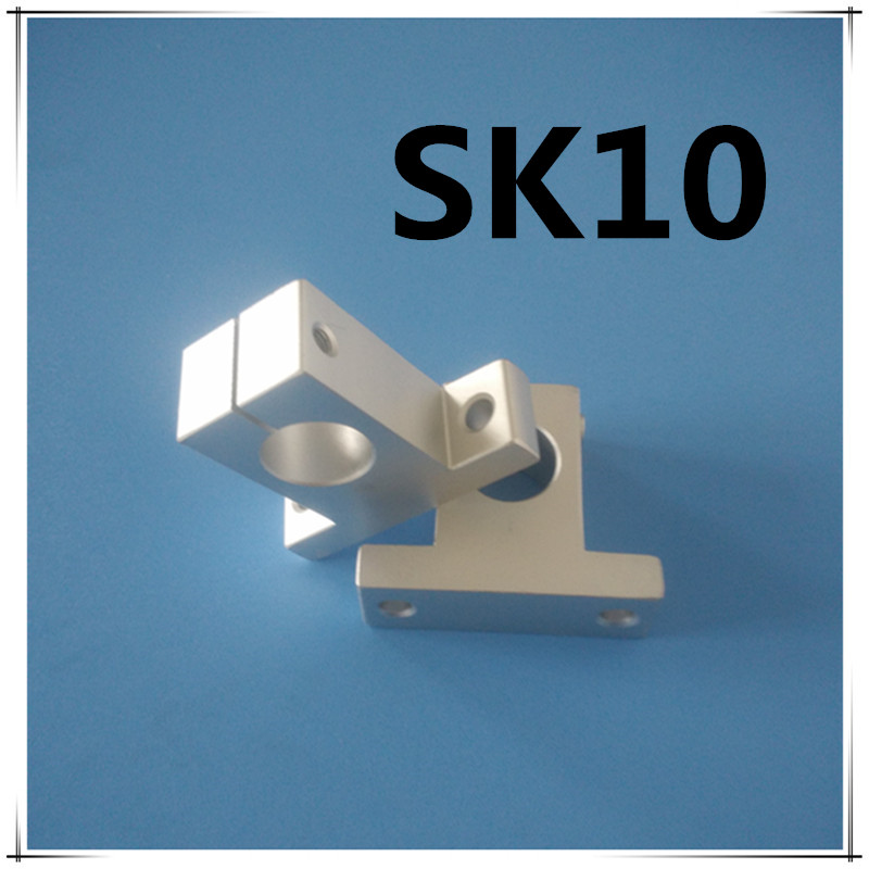 10pcs SK10 SH10A 10mm Linear Rail Shaft End Support XYZ Table CNC parts sk16 sh16a 16mm linear rail shaft support xyz table cnc 2pcs lot