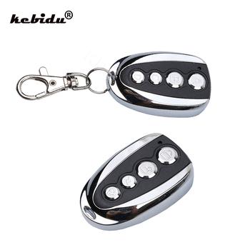 Kebidu ABCD Key Control 433 92MHZ zdalne klonowanie 4 kanałowy Auto garaż samochodowy drzwi do samochodu dla domu hurtownia tanie i dobre opinie Uniwersalny 433 MHz Copy remote control