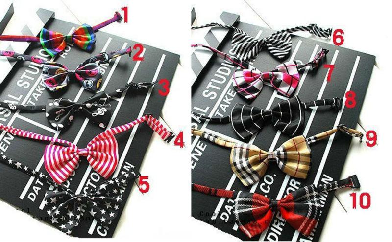 25 Teile/los Kinder Bowtie/vielzahl Von Muster Design Und Farbe Baby Boom Haben Bowknot 20 Farbe Optional Mischgroßverkauf Clear-Cut-Textur