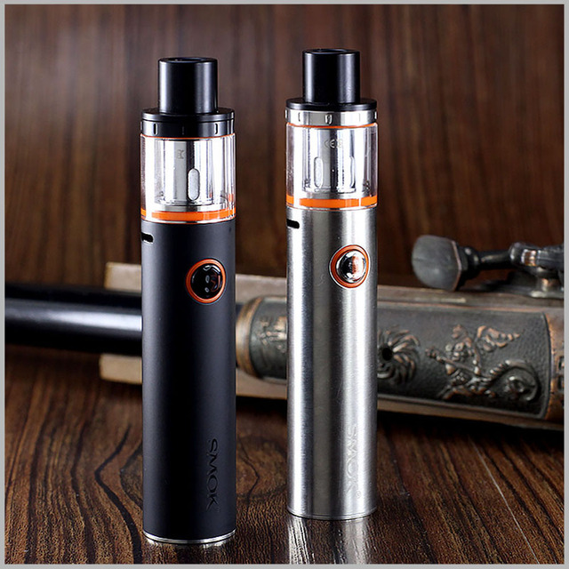 Dual Core Electronic Cigarette with LED Indicator