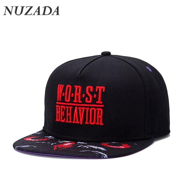 Brands NUZADA Three Dimensional Embroidery Classic Fashion Men Women Sports Hat Hats Baseball Cap Hip Hop Snapback Caps jt-036