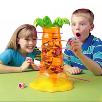 36 шт. дети укладки Пластик бокал вина детская обучающая красочная стопка игрушек до блоки Интерактивный Стол игры Семья игры