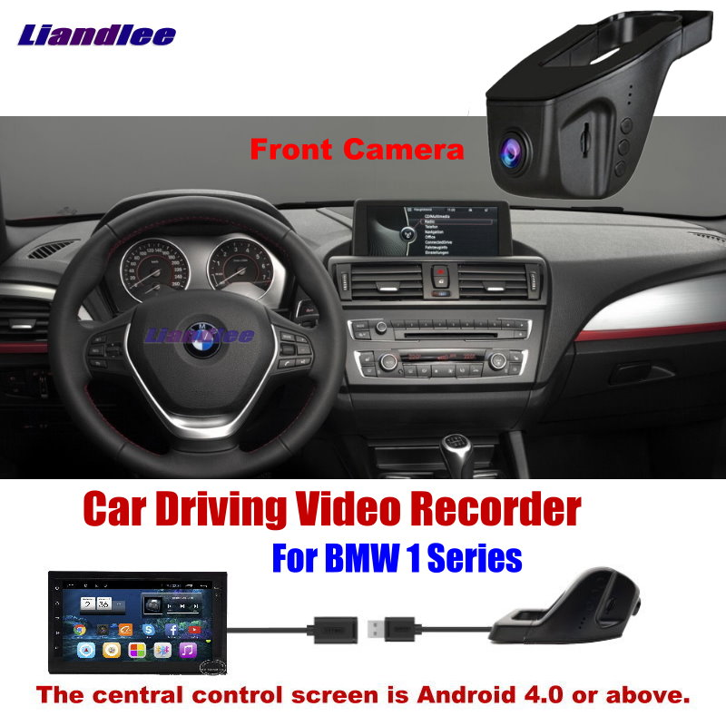 Liandlee Novatek96655 Car DVR Front Camera Driving Video Recorder USB Plug For BMW 1 Series Android Screen AUTO DashcamLiandlee Novatek96655 Car DVR Front Camera Driving Video Recorder USB Plug For BMW 1 Series Android Screen AUTO Dashcam