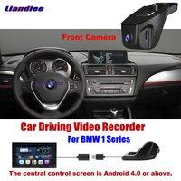 Liandlee Novatek96655 Car DVR Front Camera Driving Video Recorder USB Plug For BMW 1 Series Android Screen AUTO Dashcam