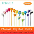 50pcs/lot New Style High Quality Super Bass Headset 3.5mm  Smile Face Earphones  For iPhone MP3 MP4