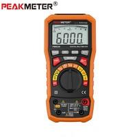 Peakmeter pm8236 디지털 멀티 미터 테스터 커패시턴스 미터 멀티 미터 전압계 멀티 미터 adm30