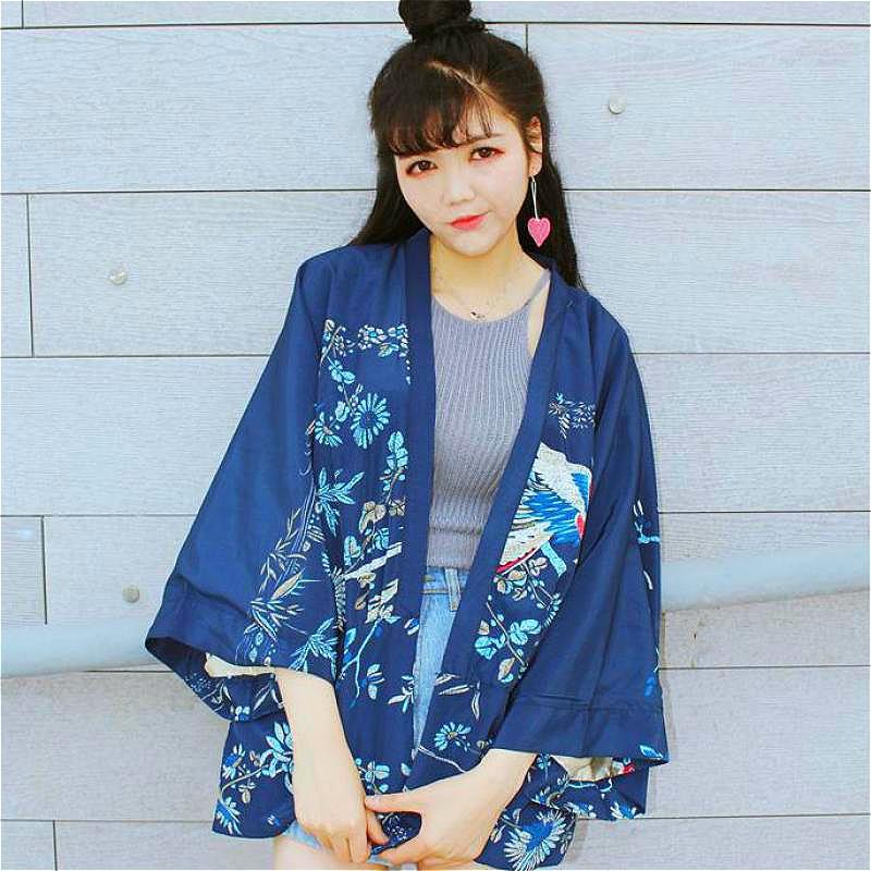 Batwing Cardigan japan harajuku shirt kimono cardigan kimono ...