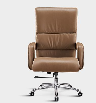 Computer chair. Boss chair. Leather swivel chair....61 the silver chair