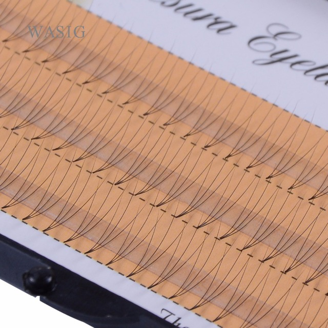 1 box 8/9/10/11/12/14 mm 0.07 C Curl 3D Individual Mink False Eyelashes Extension Soft Black Fake False Eye Lashes