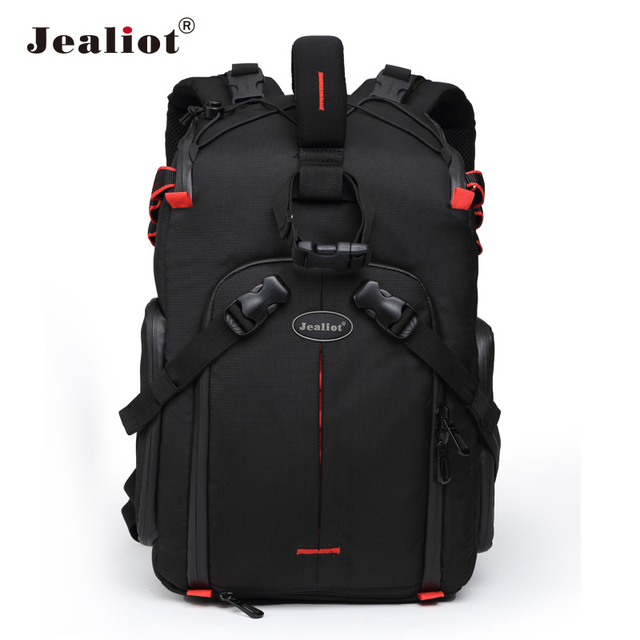 Jealiot Профессиональная зеркальная рюкзак для Камера сумка для ноутбука видео фото объектив цифровой Камера мешок фотографии водонепроницаемый для Canon 50d