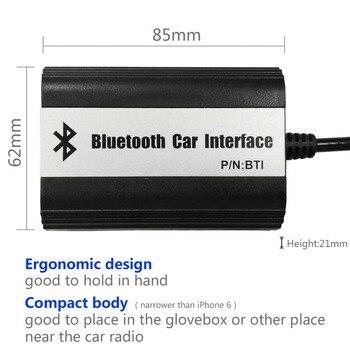 автомобильный адаптер Bluetooth | APPS2Car автомобильное радио Bluetooth Handfree вызов интерфейс беспроводной музыкальный приемник USB AUX адаптер для Renault Scenic 2003-2008