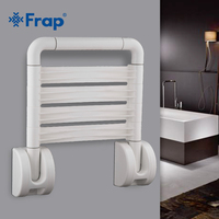 Frap Новый 1 комплект складные стены Душ сиденья настенный отдых душ спа-салон Экономия пространства Ванная комната кресла безопасности F8131