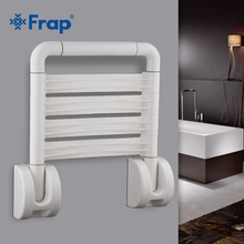 Frap new 1 set Folding Wall Shower Seat Wall Mounted Relaxation Shower Spa Bench Saving Space Bathroom safety chair F8131
