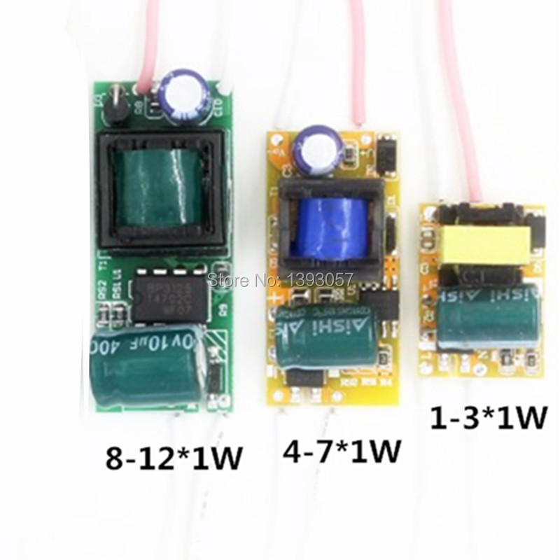 5pcs Constant Current <font><b>LED</b></font> <font><b>Driver</b></font> Lamp Power Supply 280mA 300mA 1W 3W 5W 7W <font><b>9W</b></font> 10W 20W 30W 36W 50W Isolation Lighting Transformer image