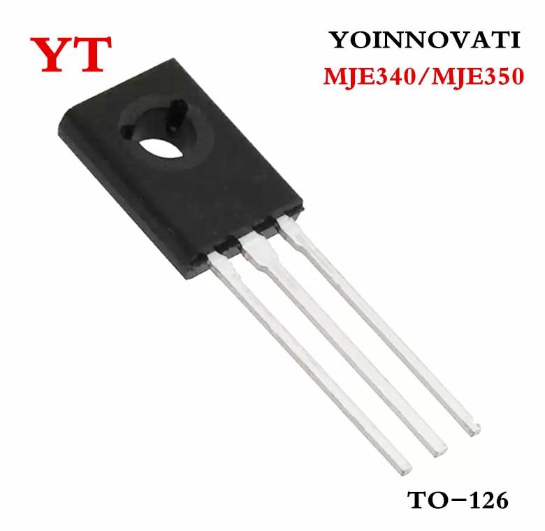20pcs/lot MJE340 MJE350 ( 10PCS MJE340 + 10PCS MJE350 )TO 126 IC best quality. ic 2  - AliExpress