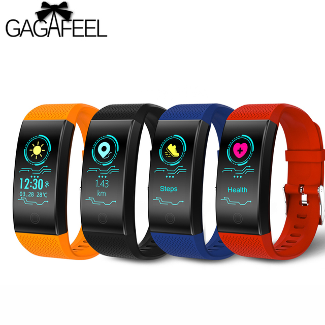QW18 Smart Watch Waterproof fitness bracelet heart rate monitor Pedometer Activi