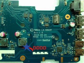 Original K000111440 PWWAA LA-6842P laptop Motherboard for Toshiba C660 Fully tested