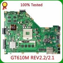 KEFU X55VD For ASUS X55VD laptop motherboard X55VD Original DDR3 2G/4G RAM rev2.1/rev2.2 freeshipping 100% tested