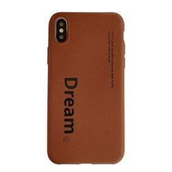Matte TPU soft cellphone cover for iPhone Xr case iPhone Xs Max case X XS iPhone 6 6s Plus 6G 6P iPhone 7 7P 8 Plus Dream coffee 1