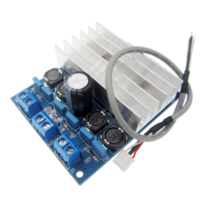 1PCS TDA7492 D Class High Power 2x50W AMP Board Digital Amplifier Board + Radiator tas5630 amplifier class d board high power finished boards mono 600w for subwoofer or full range diy free shipping