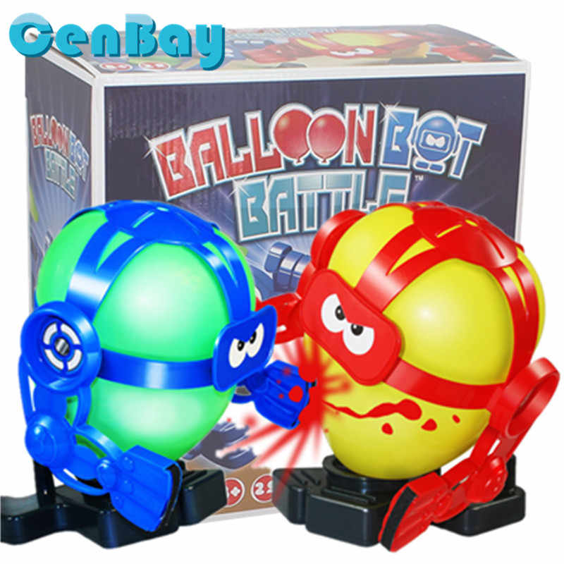 Funny Balloon Bot Battle Toy See Who Can Make The Balloon
