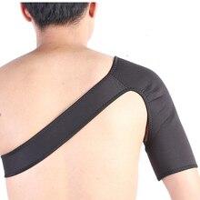 Регулируемая поддержка плеча неопрена защита для колена суставы Спортивные Компрессионные для спорта на открытом воздухе