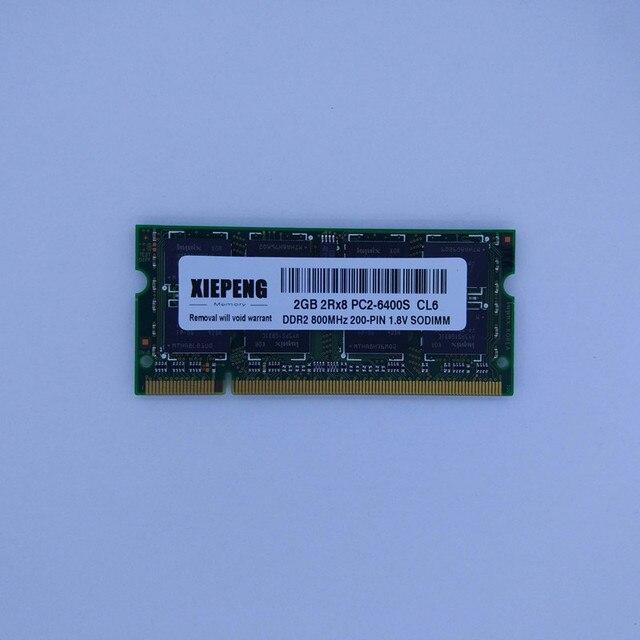 Portable 4 GO 2Rx8 PC2-6400S RAM 2 GO DDR2 800 MHz 1 GB pc2 5300 Mémoire pour HP TouchSmart IQ826t IQ546t IQ525 IQ522it IQ506 Ordinateur Portable