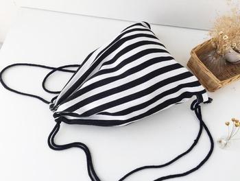 цена на 5 Pieces/lot Girls Boys Drawstring Backpacks 3D Print Canvas School Bag For Teenagers Women Travel Shoulder Bag