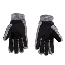 Fashion Men's Cashmere Thick Gloves