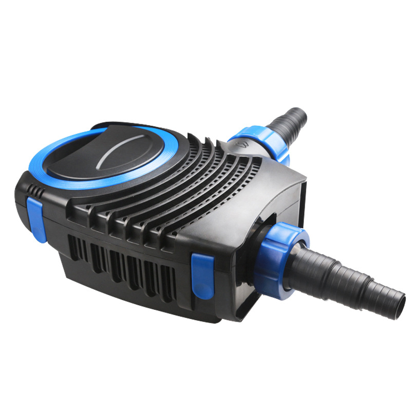 The new pond rockery water pumps submersible pump circulating pump model CTF-6000 Power 40W head 4.2m flow 6000L / h 1 2w solar panel power water pump kit for submersible fountain pond