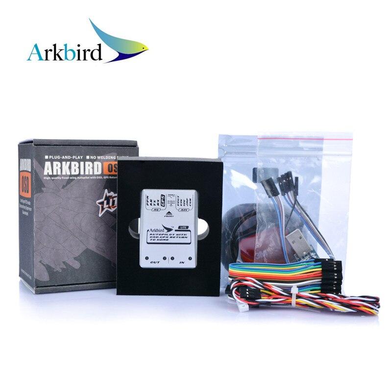 Arkbird 2.0 Lite OSD FPV Autopilot Flight Controller System With M8N GPS Current Sensor Neccessory Cables