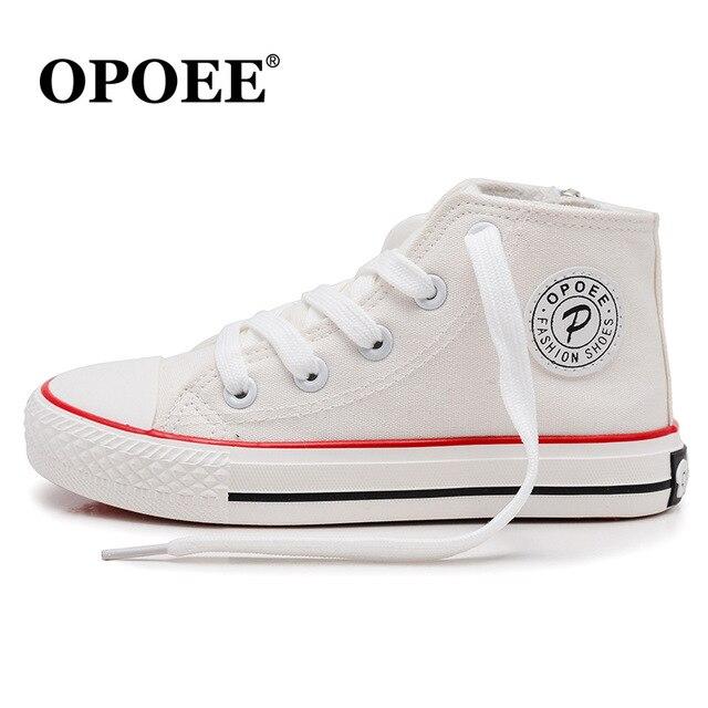 Leuke Kinderschoenen.Kinderschoenen Jongens High Top Casual Sport Schoenen Meisjes Mode