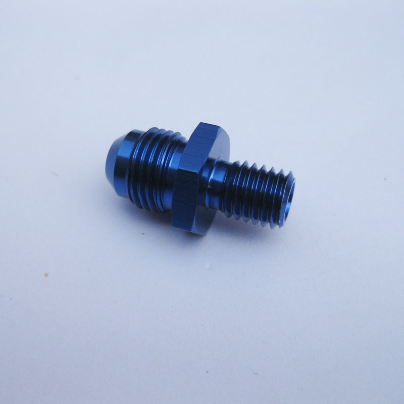 AN6-M10*1.25 Male hose ends,High quality modified car worm gear screw oil refires screws