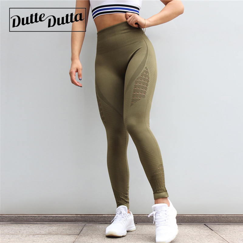 Seamless Leggings For Fitness Sportswear Woman Gym Legging High Waist Yoga Pants Leggins Sport Women Tights Women's Sports Wear