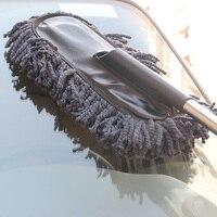 Công Cụ Làm Sạch xe Bàn Chải Sáp Tự Động Bên Ngoài Có Thể Thu Vào Xử Lý Wash Bàn Chải Xe Lau Bụi Bụi Sáp Kéo DXY88