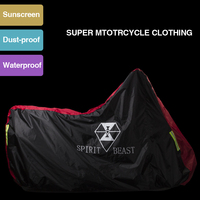 High Quality Waterproof Outdoor Motorcycle Moto Cover Electric Bicycle Covers Motor Rain Coat Waterproof Suitable For