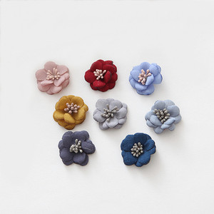 20 PCS Cloth Flower With Stame
