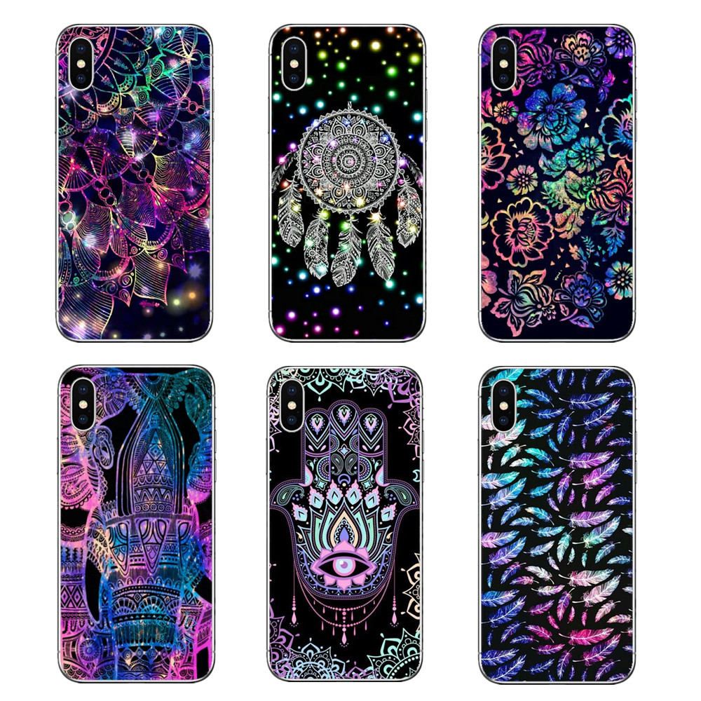 For Motorola Moto X4 E4 E5 G5 G5s G6 Z Z3 G3 C Play Plus Geometry Pastel Tribal Ethnic Aztec Triangle Pattern Phone Shell Covers Cellphones & Telecommunications