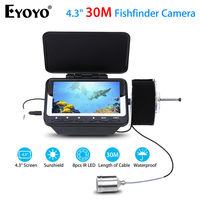 Eyoyo F06 4 3 30M LCD Monitor IR Fish Finder Detector Underwater Fishing Camera Night Vision
