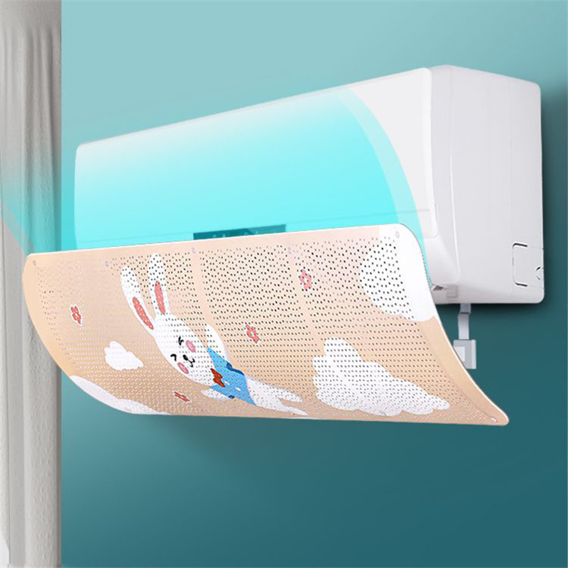 2019 New Adjustable Air Conditioner Deflector Air Conditioning Cover Anti Direct Blowing Windshield Household Merchandises(China)