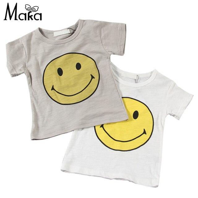 Big Delle Ragazzi Smile Dei T Bambino Parti Ragazze Shirt Face Del N8wkn0OXP