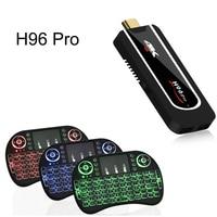 H96 Pro Set TOP Box Amlogic S912 2G 8G 64bit Android 7 1 TV BOX 2