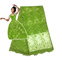 2016 High Quality Nigerian French Lace African Lace Fabric For Party Dress 5yards Lot FC1628 TFO