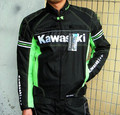 New motorcycl windproof- for Kawasaki MONSTER ghost racing suits - with removable cotton gall bladder and protective gear