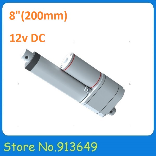 8inch/ 200mm Stroke Position Feeback Linear Actuator With Potentiometer,12V DC 750N Load Capacity ,no-load speed at 10mm/s -1PC sayoon dc 12v contactor czwt150a contactor with switching phase small volume large load capacity long service life