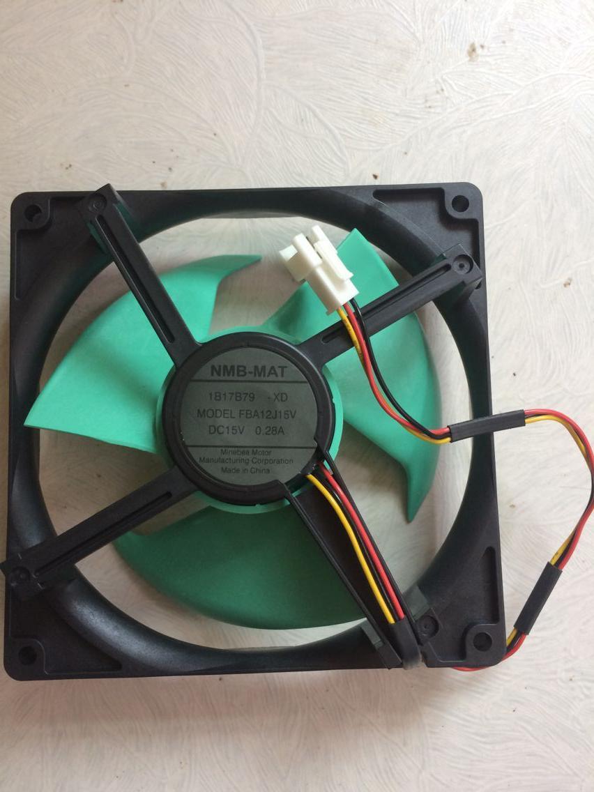 New original NMB-MAT MODEL FBA12J15V 15V 0.28A fan Refrigerator